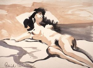 nude asprawl