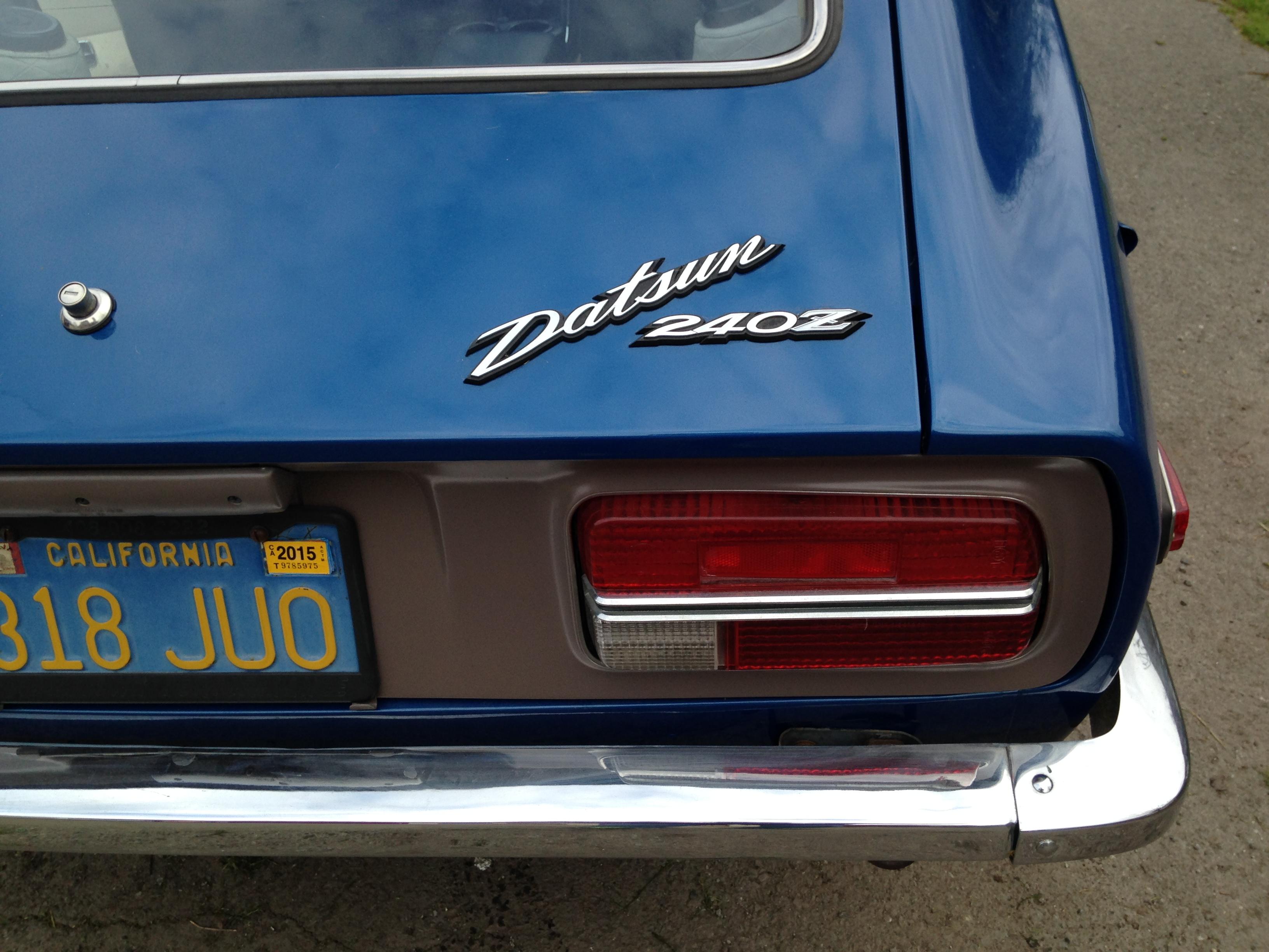 Datsun rear