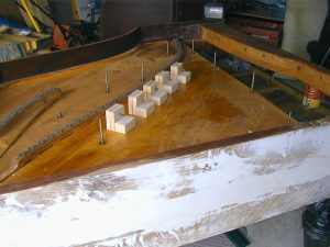 soundboard clamps & long side